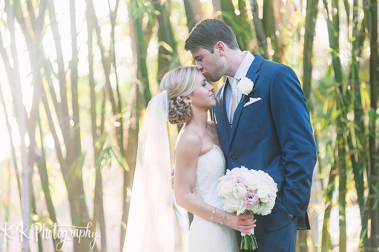 Sarasota Garden Wedding Portrait | Sarasota Wedding Planner Parties A La Carte