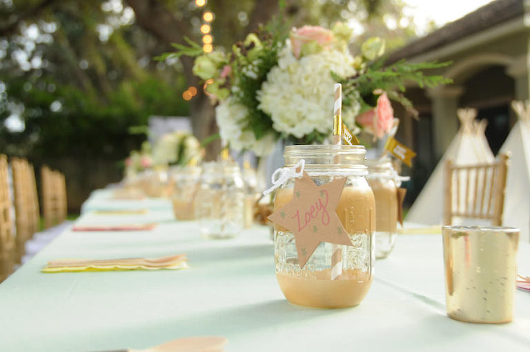 Glamping Outdoor Birthday Party |St. Petersburg Child's Birthday Party Event Planner Parties a la Carte