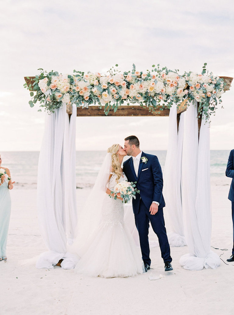 Elegant Clearwater Beach Destination Wedding at Carlouel Yacht Club ...
