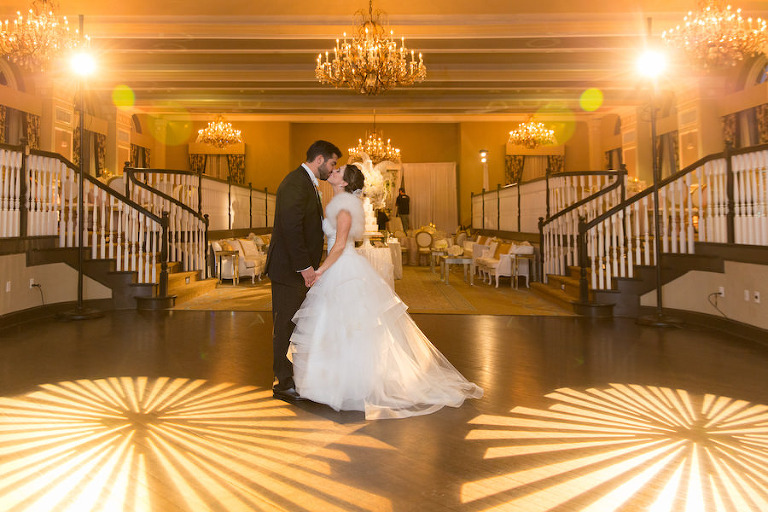 Romantic Luxurious Ballroom Wedding Reception | Planner Parties a la Carte