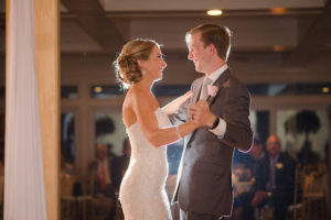 Bride and Groom First Dance | Clearwater Beach Wedding Venue Carlouel Yacht Club | Planner Parties a la Carte